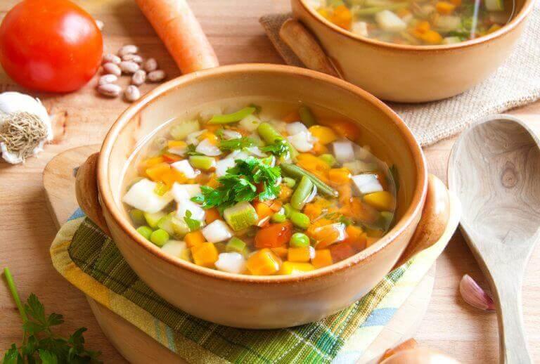 як приготувати суп з шинкою серрано