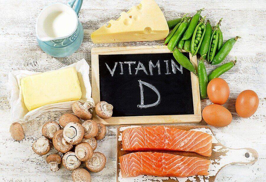продукти, багаті на вітамін D