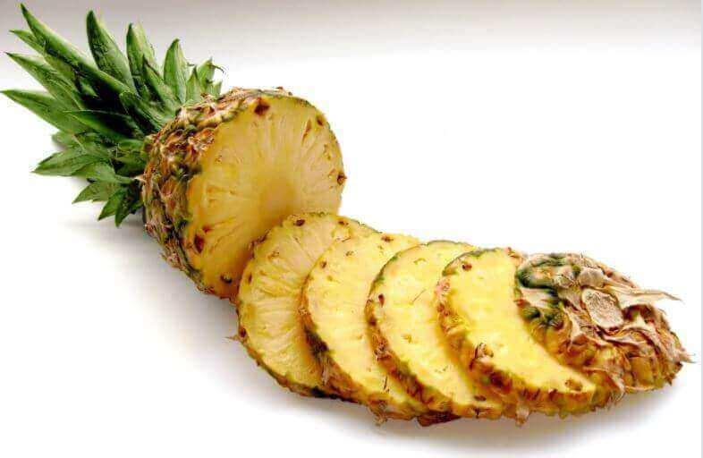 ананас для лікування флебіту