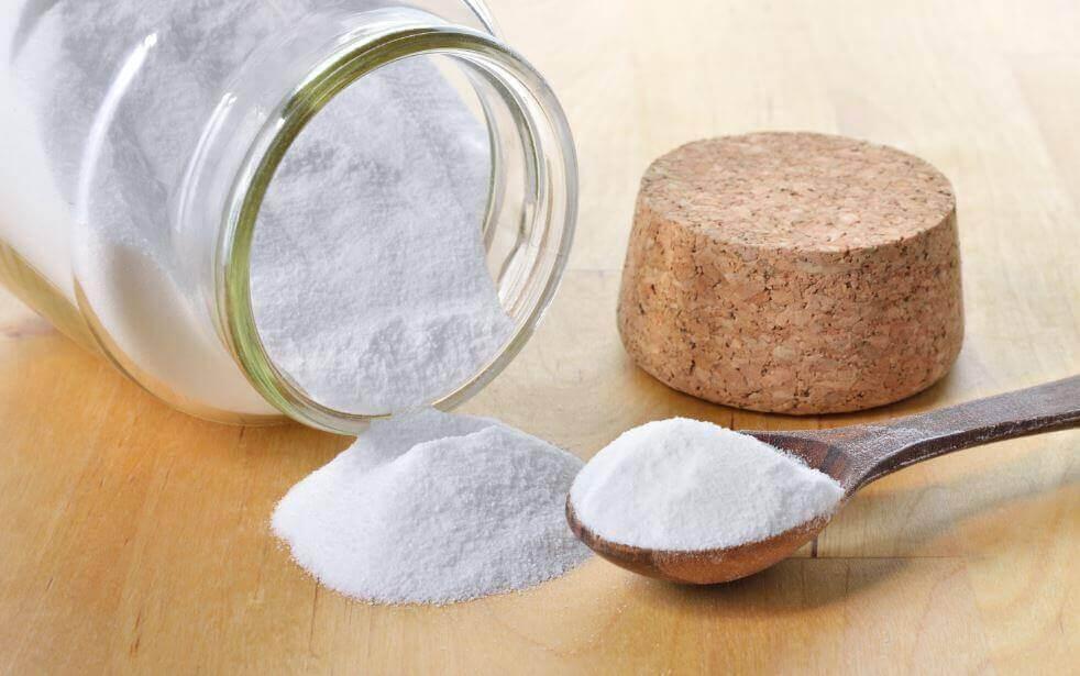 Харчова сода для очищення кахлю