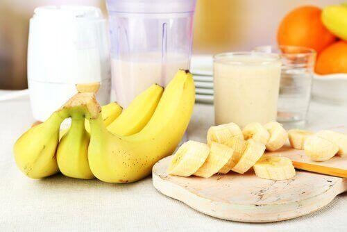 Банани дають енергію