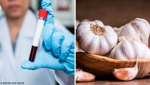 Корисні властивості часнику для згортання крові