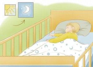 Як навчити дитину спати вночі без зайвих зусиль