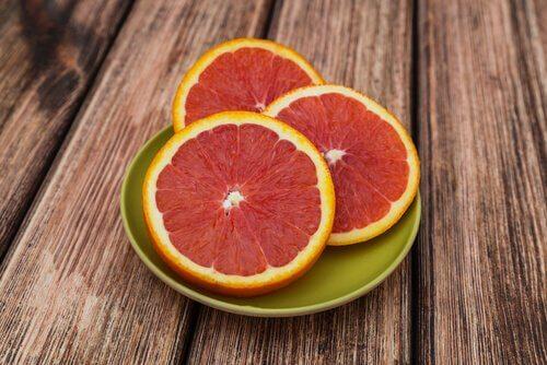 Грейпфрут для схуднення