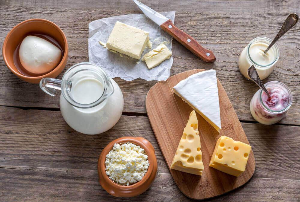 молочні продукти корисні для шкіри