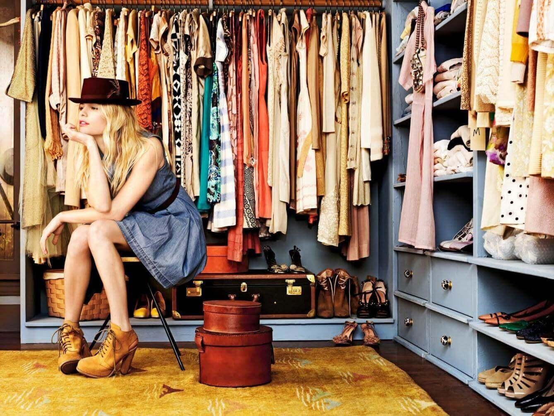 поради для зберігання одягу