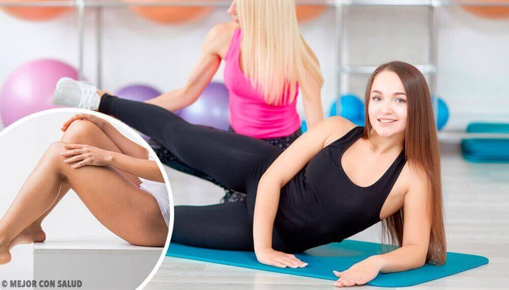 Вправи, які допоможуть швидко підтягнути ноги