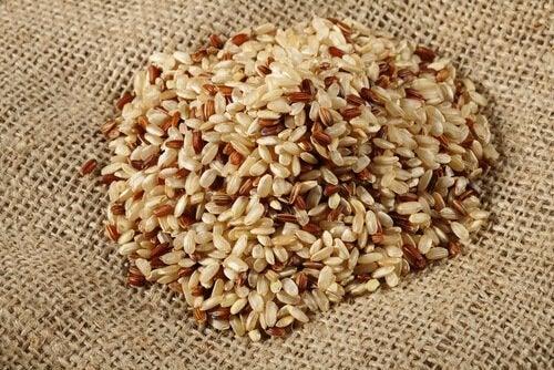 рис та зерна