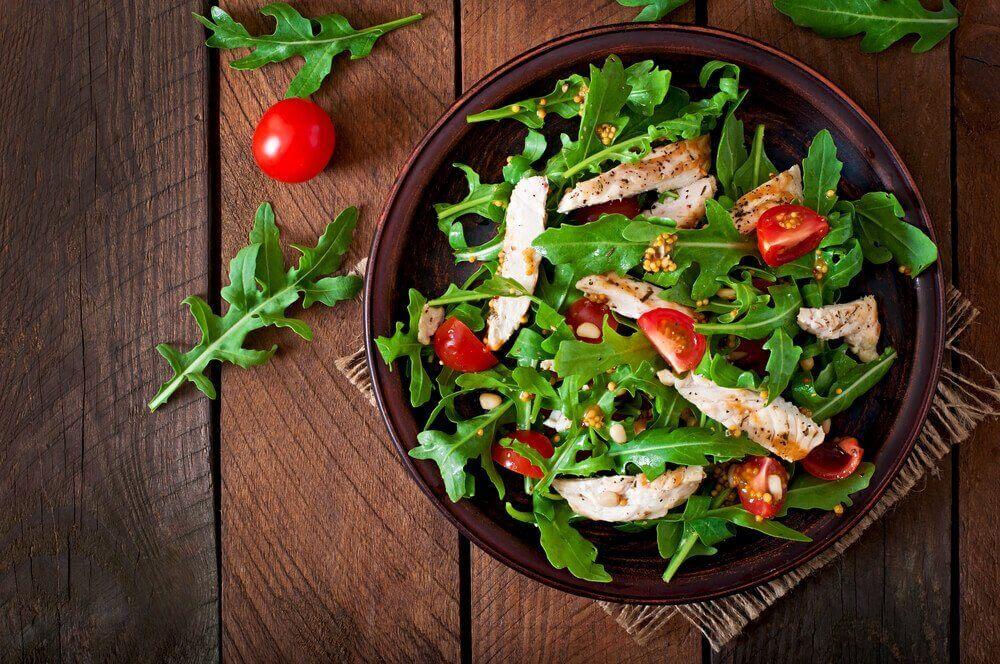 салат з куркумою для схуднення