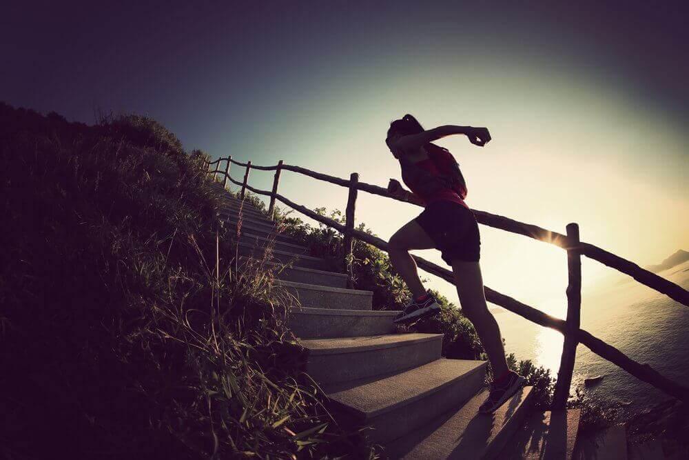 тренування на сходах