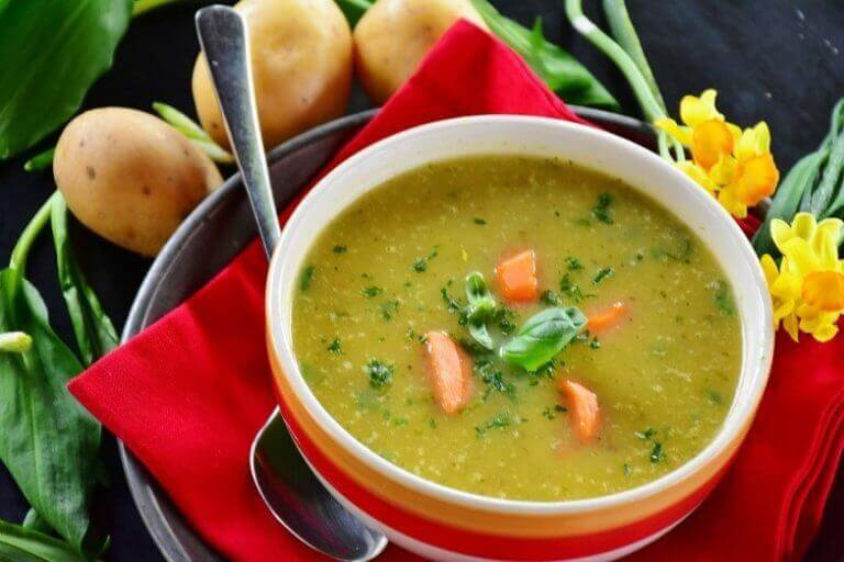 суп з шинкою серрано: рецепт
