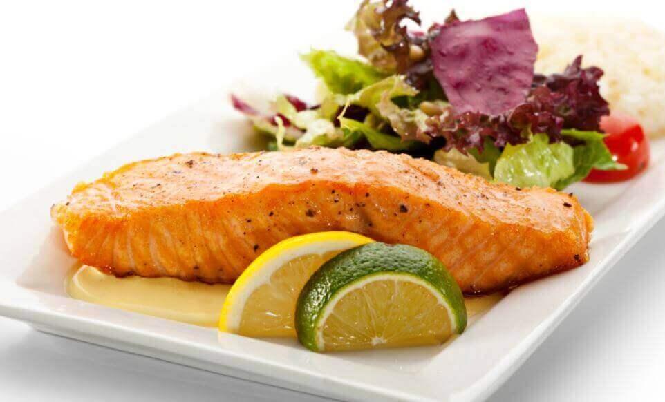 Ідеальний лосось у лимонному соусі