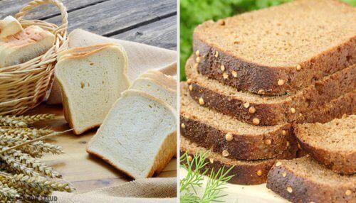 Який хліб кращий: білий чи цільнозерновий?
