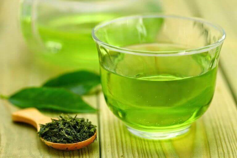 зелений чай для схуднення взимку