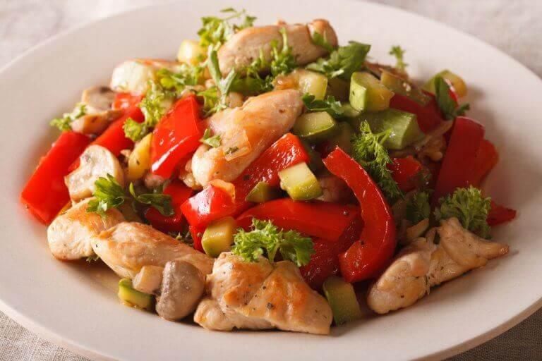 рецепти рагу з овочами та курятиною