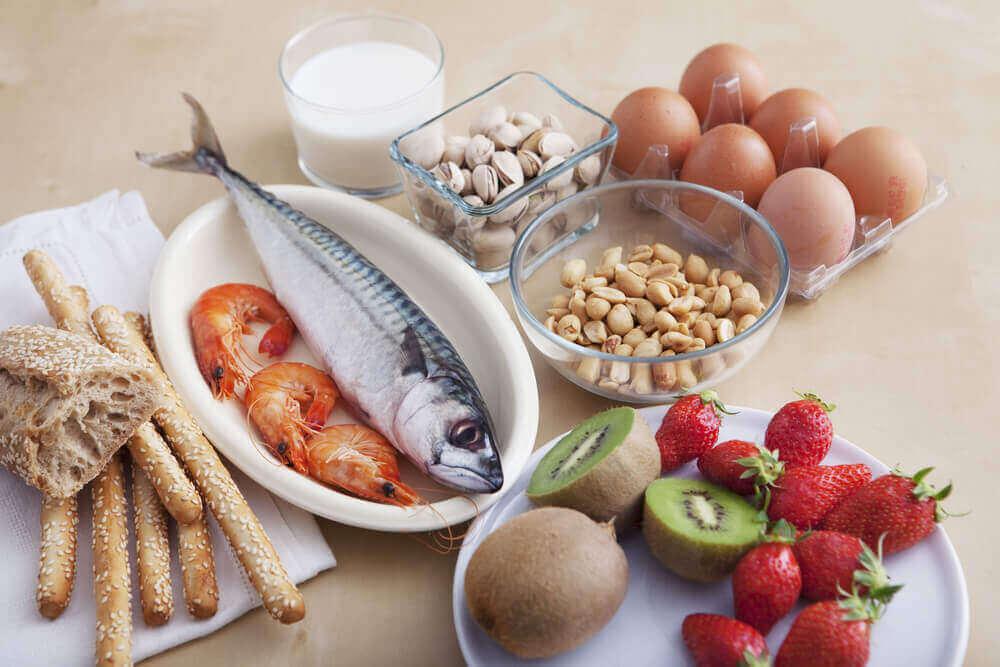 найпоширеніші харчові алергени