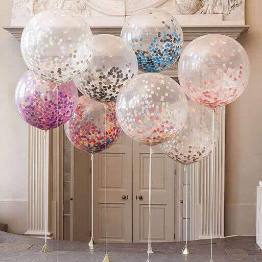 идеи для украшения воздушными шарами
