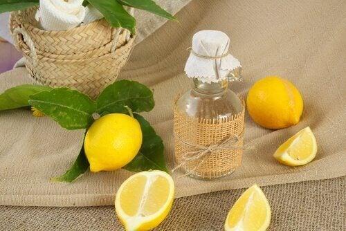 лимон та яблучний оцет