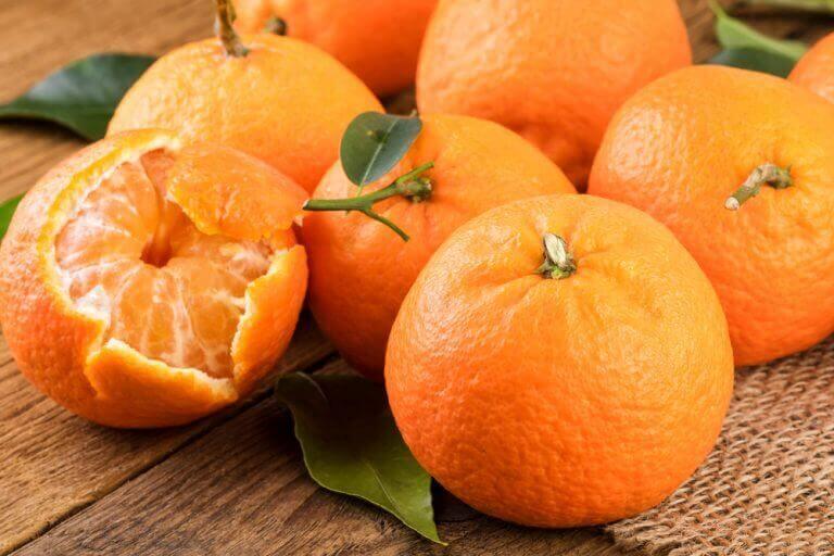 мандарини у раціоні