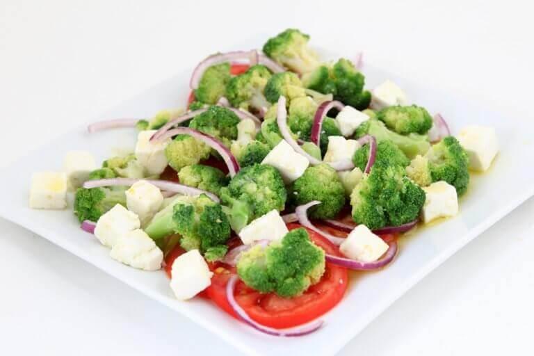 овочеві омлети зі шпинатом