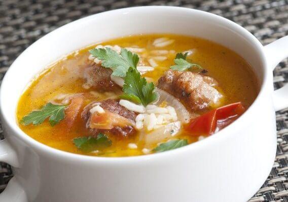 рисові супи для лікування діареї