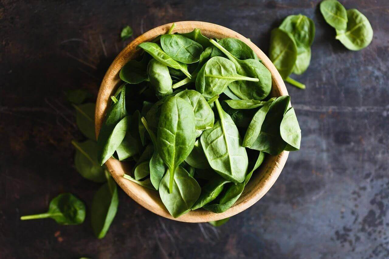 детокс-салати зі шпинату