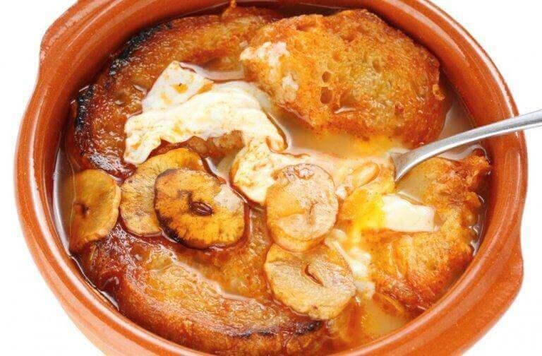 часниковий суп - простий рецепт