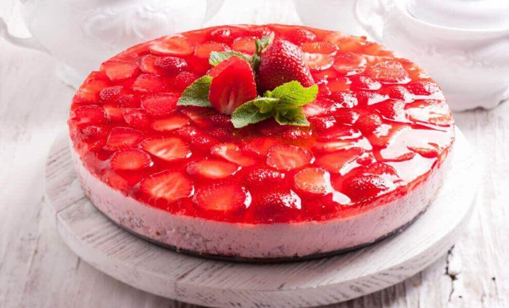 десерти на основі желатину