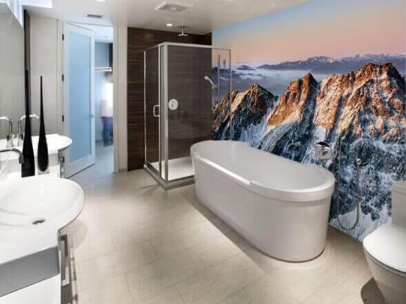 мінімалістський стиль у ванній