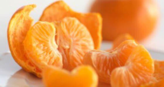 мандарини містять вітамін С