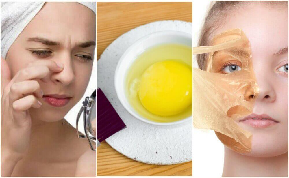 Яєчні маски для красивої шкіри