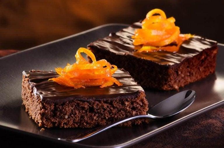 Як приготувати шоколадно-апельсиновий торт