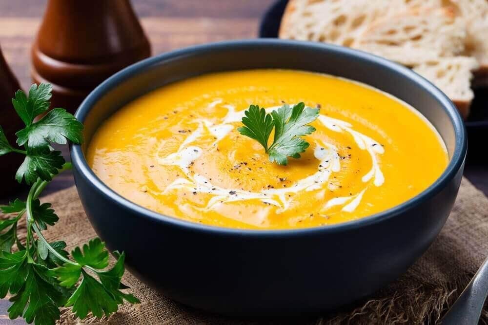 морквяно-вершковий суп