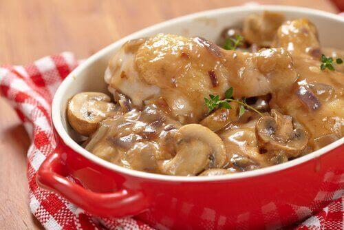 простий рецепт грибної запіканки