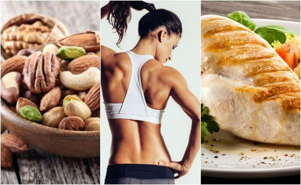 Ефективна дієта для тонування м'язів тіла