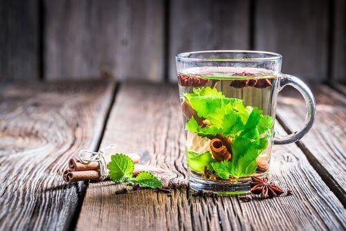 чай з корицею та евкаліптом