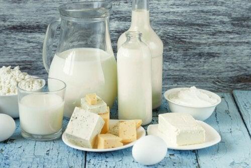 молочні продукти на сніданок