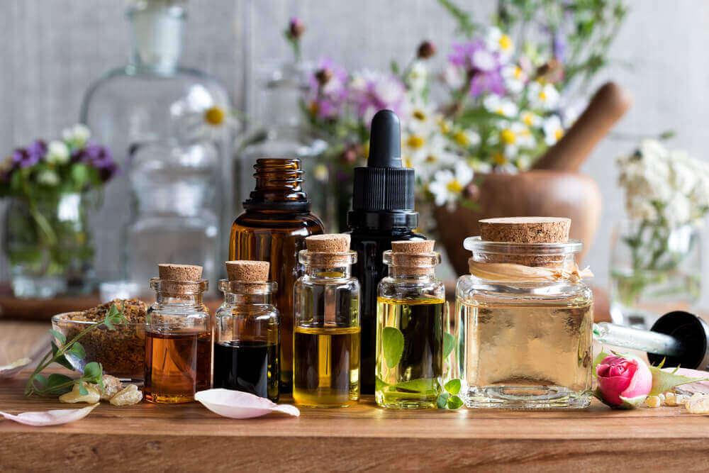 ефірні олії, щоб полегшити головний біль