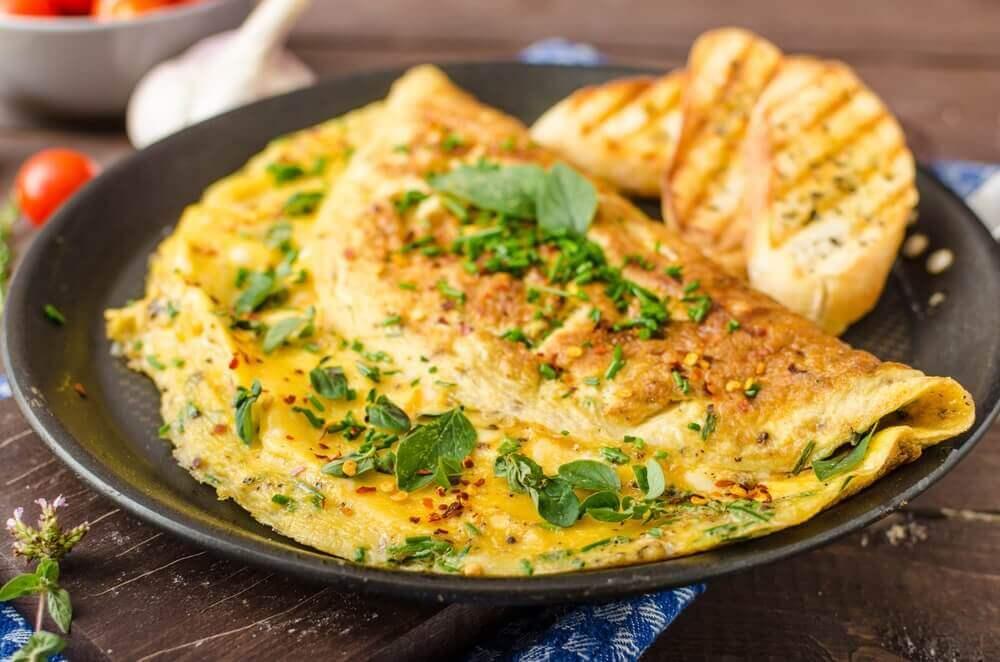 смачні яєчні омлети