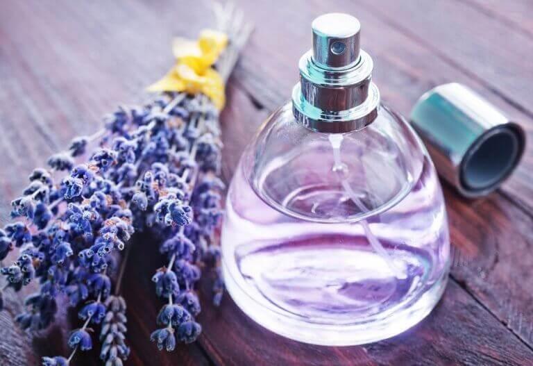 старі пляшки від духів