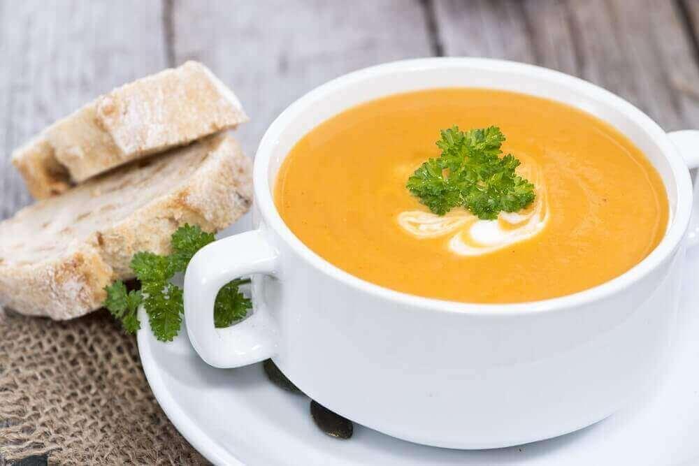 рецепти гарбузового супу