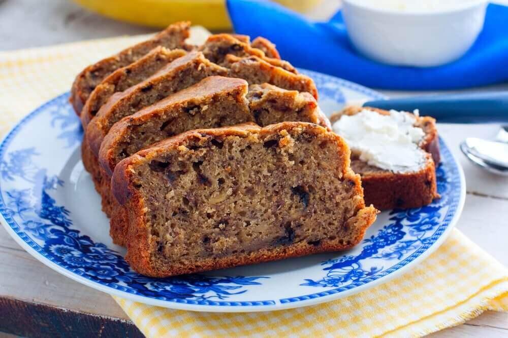 смачний домашній солодкий хліб