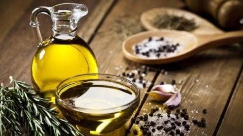 оливкова олія і рута