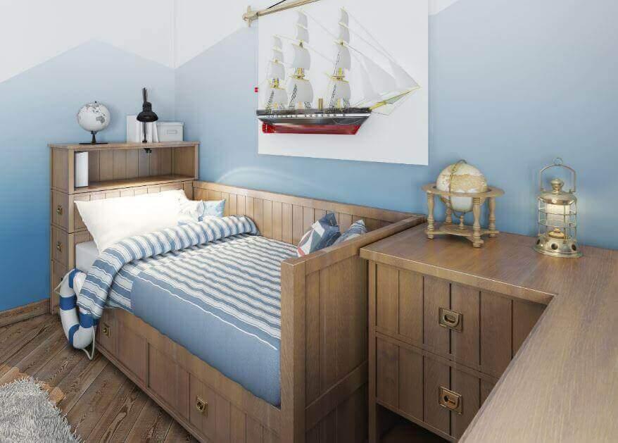4 ліжка з шухлядами, які полюблять ваші діти