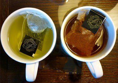 зелений чай, щоб стимулювати кровообіг