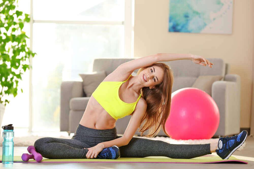 спорт зменшує складки на спині
