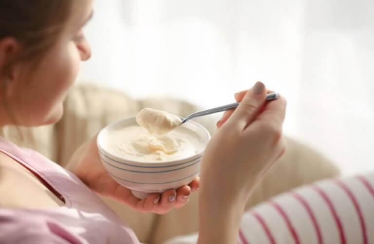 йогурт для збільшення м'язової маси