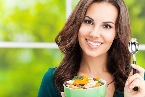 правильне харчування та спорт для гарного самопочуття