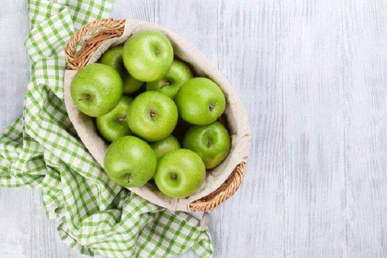 зелені яблука для спалення жиру