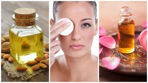 Натуральні олії для зняття макіяжу